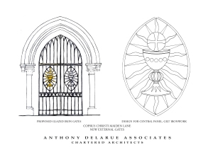 Doc9 Maiden Lane gates design